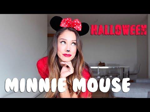 Happy Sunny Flowers   Halloween I Disfrázate de Minnie Mouse