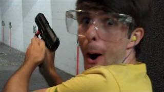 Noobs Shooting Real Guns! (Ian is Bored 31)