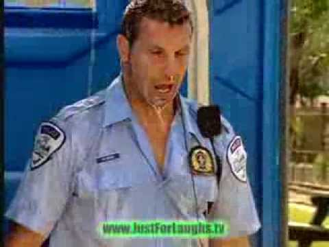 Outdoor Toilet Prank on Policeman Funny Video