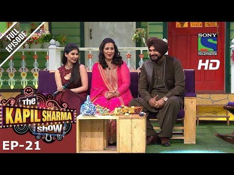 The Kapil Sharma Show - दी कपिल शर्मा शो–ep-21-navjot Kaur Sidhu –2nd July 2016