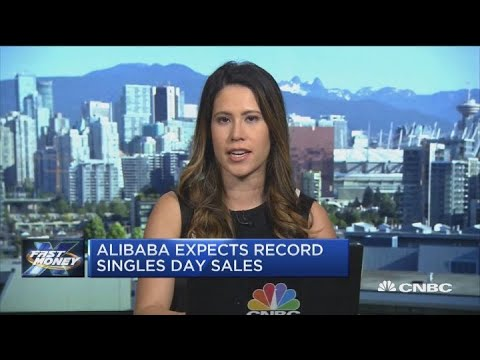 Alibaba's gearing up for its Singles Day shopping event this weekend