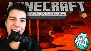 NETHER! - Minecraft PS3 [#4]