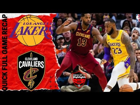 NBA GAME RECAP: Los Angeles Lakers vs Cleveland Cavaliers | January 13, 2020