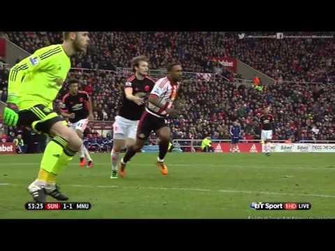 Golat e ndeshjes Sunderland – Manchester United