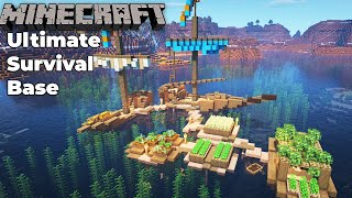 Minecraft 1.15 Ultimate Survival Base in the Ocean!
