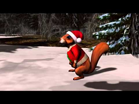 A Christmas Squirrel