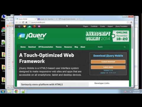 Learn to Build a jQuery Mobile App from Scratch - Part 2