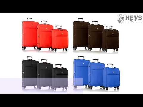 Відео огляд валізи Heys Argus (M) Orange