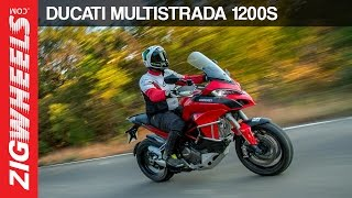 2. Ducati Multistrada 1200S | Road Test Review | ZigWheels