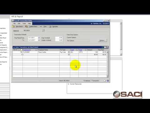 Using Negative Deductions in Microsoft Dynamics GP