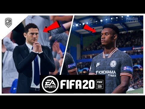 FIFA 20 Indonesia Gameplay Liga Champions UEFA: Chelsea vs Liverpool (Demo)