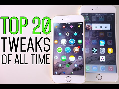 Top 20 iOS 8 Cydia Tweaks Of All Time - 8.1.2 & 8.1.1 TaiG Jailbreak Compatible
