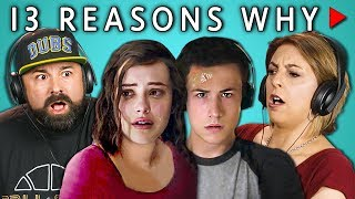 Video PARENTS REACT TO 13 REASONS WHY MP3, 3GP, MP4, WEBM, AVI, FLV Agustus 2018