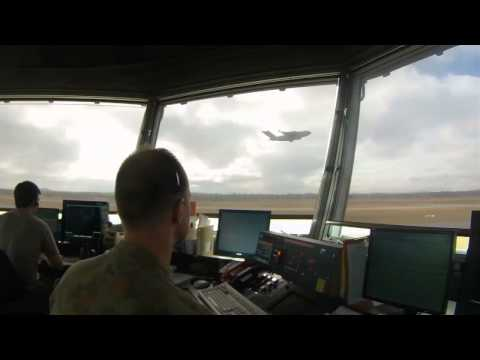 Air Traffic Control during Talisman Saber 2013