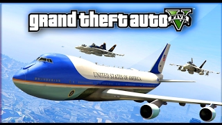 AIR FORCE ONE GTA5 TRUMP ESCORT TO SANTISHORE VEHICLES CONVERTED By SkylineGTRFreak: https://goo.gl/6GNvBe https://www.gta5-mods.com/scripts/gta-v-pc-blinker...