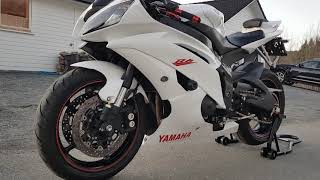 3. Yamaha YZF-R6 2011 cold engine start and walkaround