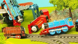 Video Thomas & Friends Accidents Will Happen on Journey Beyond Sodor Trackmaster set Toy Trains MP3, 3GP, MP4, WEBM, AVI, FLV Agustus 2018