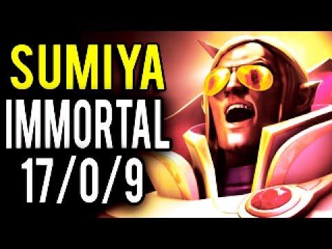 UNKILLABLE RAID BOSS Invoker Mid by Sumiya vs China Haters 7.06 Dota 2
