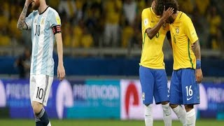 Video Ekspresi Messi Usai Kalah dari Brasil 3 - 0 Argentina   Highlights Kualifikasi Piala Dunia 2018 MP3, 3GP, MP4, WEBM, AVI, FLV Oktober 2017