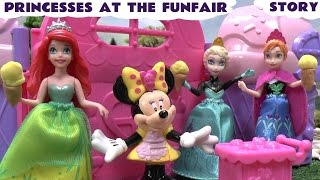 Princesses at the Funfair