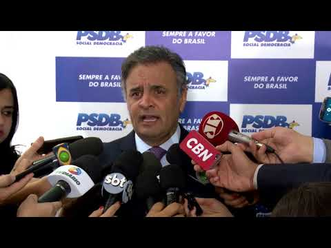 Aécio: PSDB permanece unido em defesa das reformas