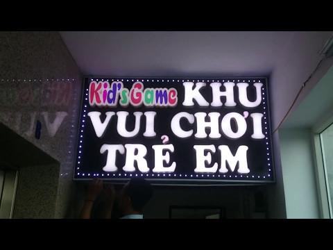Lắp biển quảng cáo khu vui chơi trẻ em Quận Hoàn Kiếm, Hà Nội