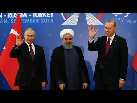 Συμφωνία Ιράν – Ρωσίας και Τουρκίας για τη Συρία