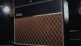 Shop Now: http://www.guitarcenter.com/Vox/Limited-Edition-60th-Anniversary-AC30HW60-30W-Hand-Wired-Tube-Guitar-Amp.gcTo commemorate the 60th anniversary of VOX Amplification, the company is unveiling a special edition of the legendary AC30. Engineered and built from the ground-up entirely in the United Kingdom, these amplifiers are completely hand-wired using only the finest available components.
