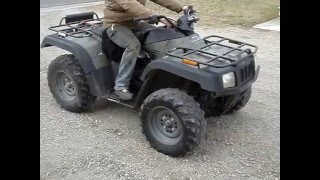 5. Parting Out a Running 2002 Arctic Cat 300 4x4 ATV on eBay