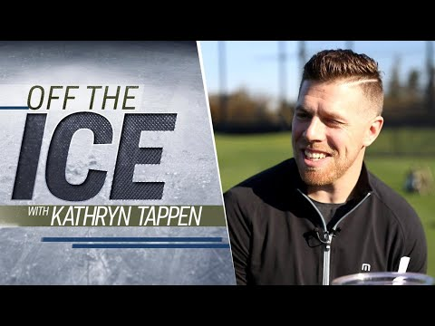 Video: San Jose Sharks' Joe Pavelski shows off his golf skills | 'Off the Ice' with KT | NHL on NBC
