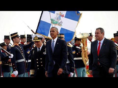 Ελλάδα: Προσγειώθηκε ο Μπαράκ Ομπάμα