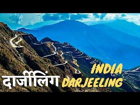 Darjeeling Himalayas India- Misty Mountain, Heritage Railway, Kangchenjunga Peak *HD*