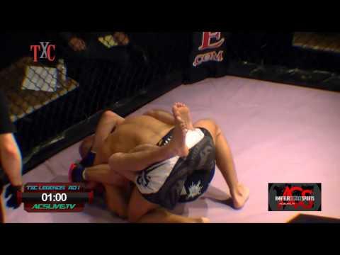 TXC Legends 3 Professional MMA  Tom Bagnasco VS Rich Roughneck Stafford