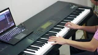 Isyana Sarasvati - Masih Berharap ( Piano Cover by JYS ) from Ayat-Ayat Cinta 2 Soundtrack