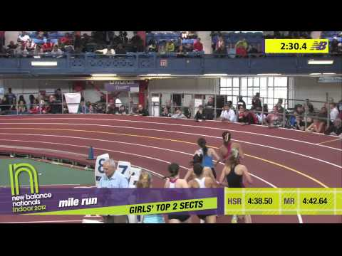 G Mile H02 (Hannah Meier 4:42.60 *Meet Record, HS Indoor Nationals 2012)