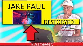 Jake Paul got DESTROYED! #DramaAlert Vikkstar123 ENDED FouseyTube!