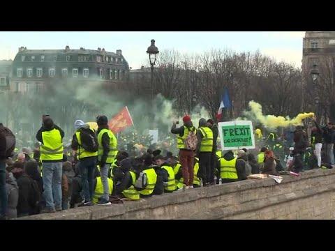 Κίτρινα Γιλέκα: Στους δρόμους για ακόμα ένα Σάββατο
