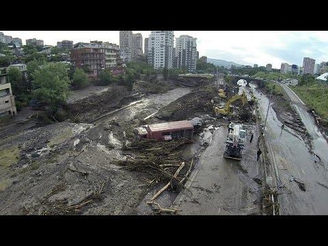 Γεωργία: Ημέρα εθνικού πένθους η Δευτέρα, μετά τις καταστροφικές πλημμύρες