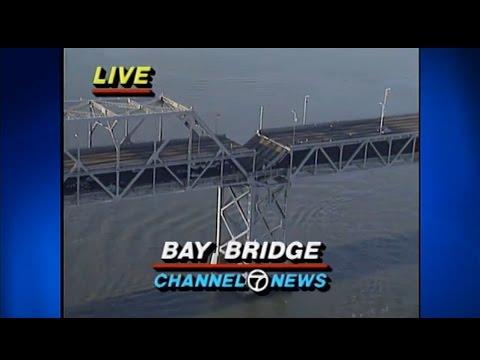 1989 San Francisco Earthquake - First Minutes (KGO TV)