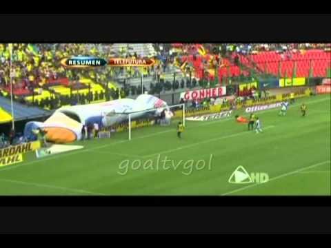 America vs Puebla 5-4 Clausura 2011 jornada 12  con tres goles de Reyna