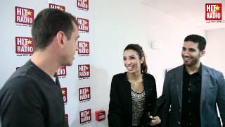 Momo kay hdar bél khalijiya à l'arrivée de Dounia Batma à HIT RADIO - Le 29/03/2012