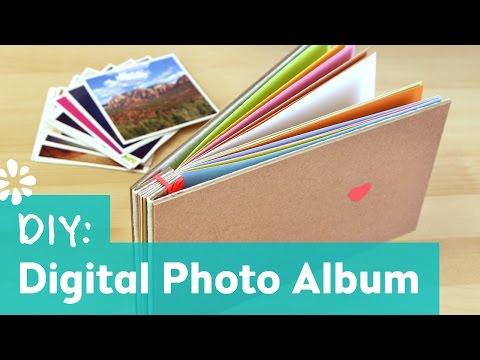 How to Make a Photo Album : Oh Joy Digital Baby Shower