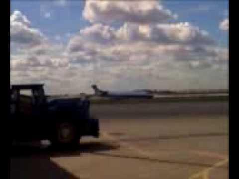 U.F.O. sighting at O'Hare airport (Chicago)