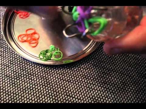 Loom Bands mit Strickliesel