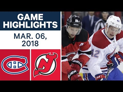 Video: NHL Game Highlights | Canadiens vs. Devils - Mar. 06, 2018