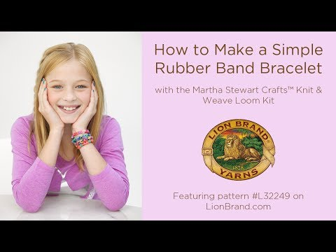 How to Make a Simple Rubber Band Bracelet