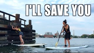 Watch in HD! - Paddle boarding across the Charles RiverPrevious Vlog  https://youtu.be/L34ozEHMUT0• • • • • • • • • • • S U M M A R Y• • • • • • • • • • • Footage taken from exactly in Aug 2015.... I thought i lost the footage while transfering stuff to my new phone but i recently discovered these clips in my icloud..... Thanks icloud! + First time paddle boarding across the Charles River in Boston+ Eating out for Restaurant Week aka Dine Out Boston at Strip by Strega• • • • • • • • • • • M U S I C  B Y • • • • • • • • • • • + XIXX - Morning Tea• • • • • • • • • C O N N E C T  W / M E • • • • • • • • • + INSTAGRAM: http://www.instagram.com/lyndeezle+ SNAPCHAT: Lyndeezle• • • • • • • • • • • •  • • • • • • • • • • • • FTC: This is NOT a sponsored video yo.