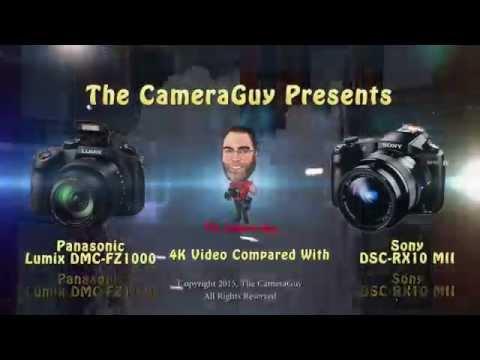 panasonic fz300 vs sony rx10 on photo portal tv