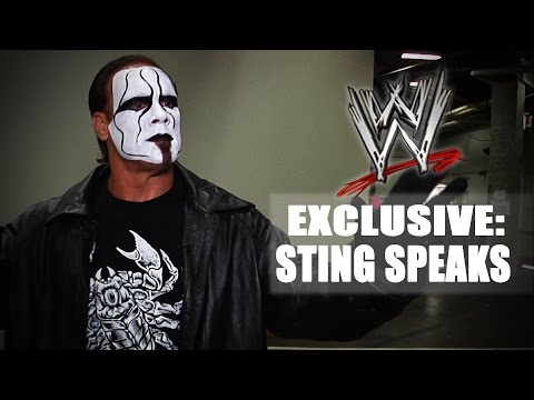 comic con - Moments before making a surprise appearance at San Diego's Comic-Con International 2014, The Man Called Sting gave his first-ever WWE.com interview.