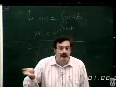 Die Gewöhnliche Differentialgleichungen - Vorlesung 02